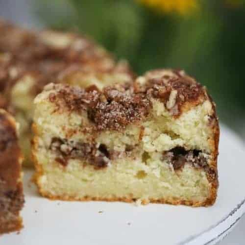 Apple Cinnamon Coffee Cake - Keto | Sugar Free Option too!