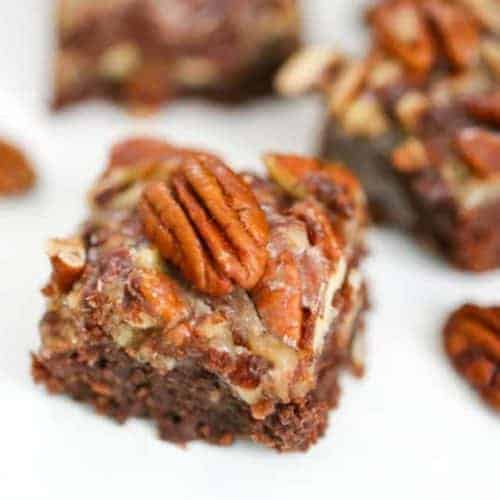 Chocolate Pecan Pie Brownies