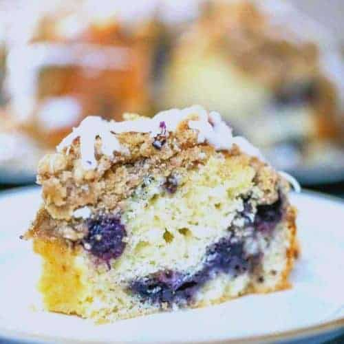 Wild Berry Streusel Crumble Coffee Cake