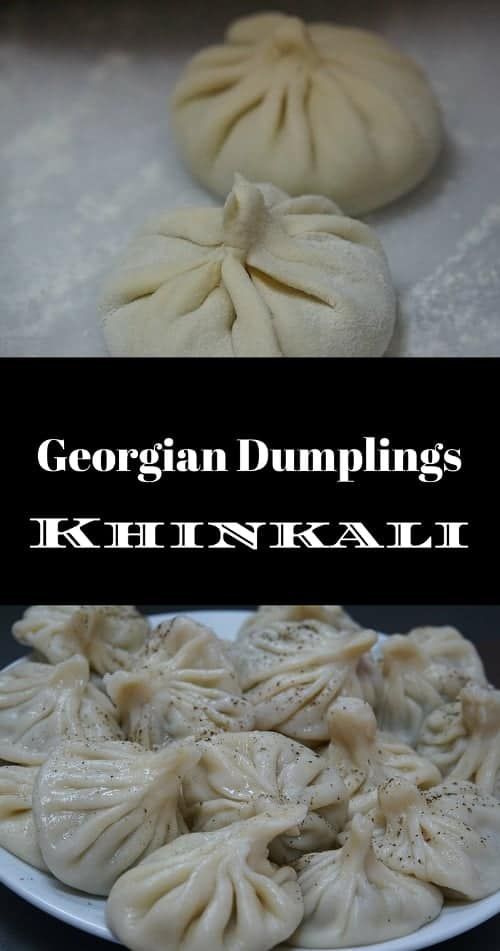 Georgian Khinkali Dumplings Xinkali Chinkali