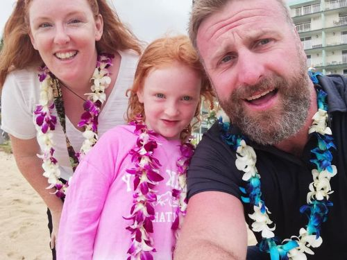 The Wickfree Family in Hawaii with Scentsy