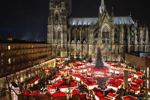 Beautiful Christmas Markets to Visit in Europe - Cologne, Germany | Winetraveler.com