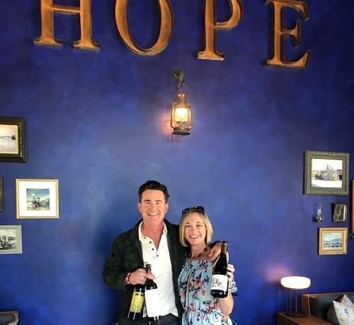 Hope Family Wines & Treana Wine Tasting in Paso Robles California