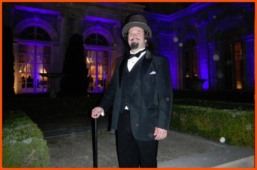 Follow this fellow around his port town's spooky backstreets to find the ghosts of newport.