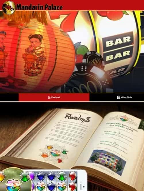 Mandarin Palace Casino free spins bonus code