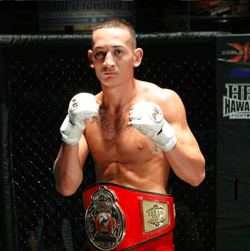 Young Max Holloway X1 Chmapion