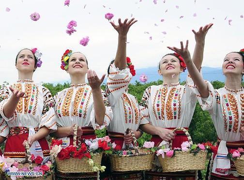 Kazanlak Rose Festival Bulgarien