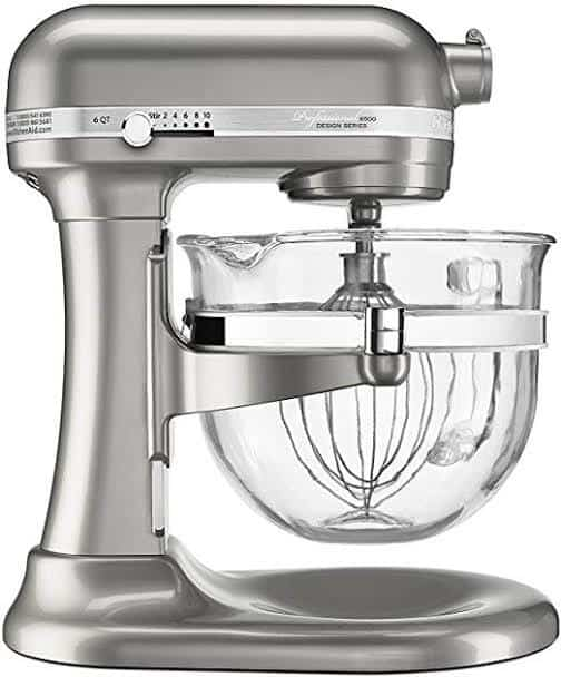 sugar pearl kitchenaid stand mixer