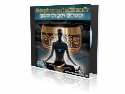 Les enregistrements des sons Tibétains inclus dans ce programme vont vous aider à apaiser votre esprit
