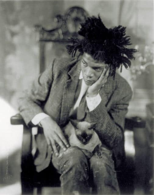 James Van Der Zee - Jean Michel Basquiat Portrait - 1981
