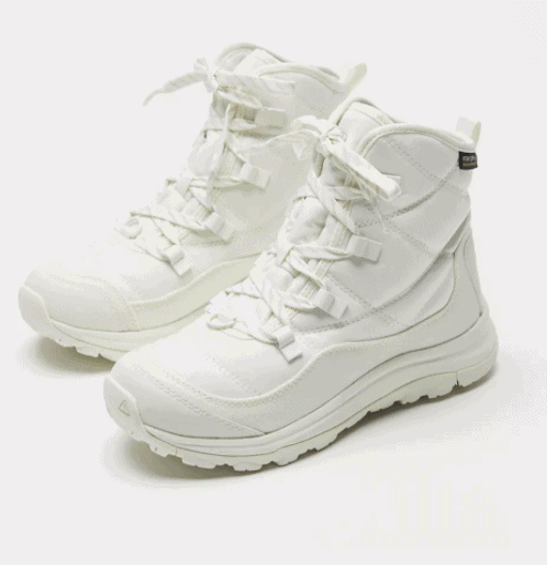 KEEN white boots