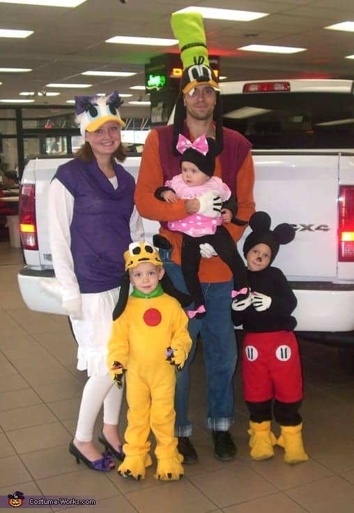 Mickey Mouse Clubhouse Family Costume