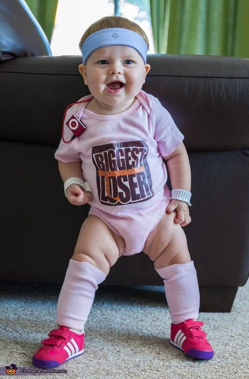 The Biggest Loser Baby - Cute Kids Halloween Costumes! Over 25 of the Best DIY Halloween Ideas to inspire you on Trick or Treat night!