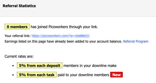 Picoworkers referrals