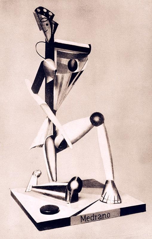 Alexander Archipenko - Medrano - 1912