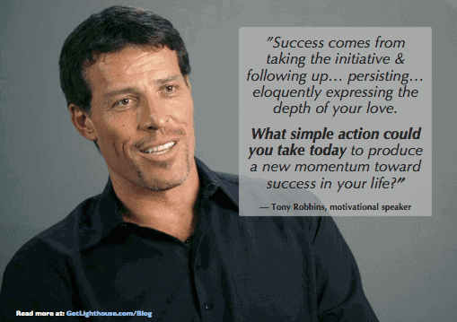 learn how to praise frequently like Tony Robbins