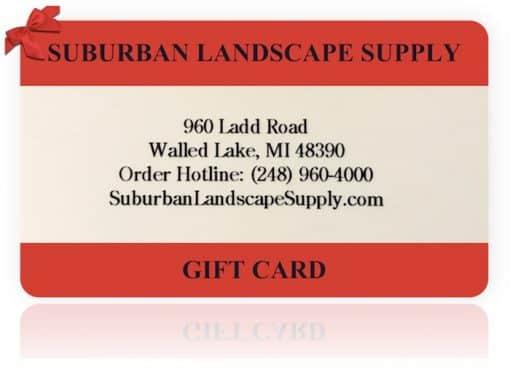 suburban landscape supply christmas gift card