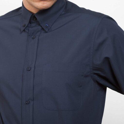 Camisa manga comprida Homem Bolso