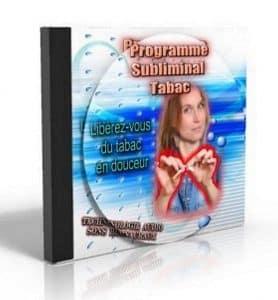 CD subliminal stop tabac pour arrêter de fumer sans volonté à l'aide de messages subliminaux
