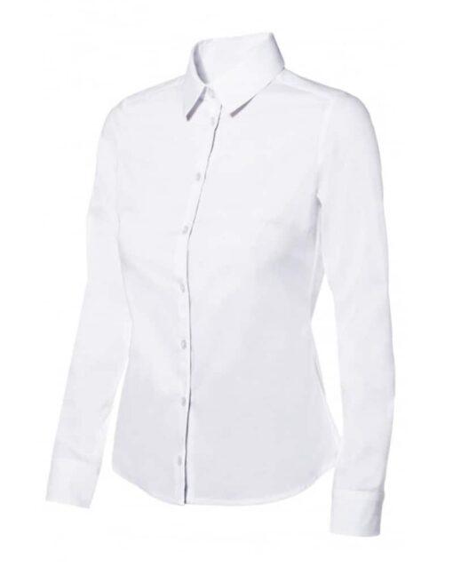 Camisa mulher stretch hoteleria branca