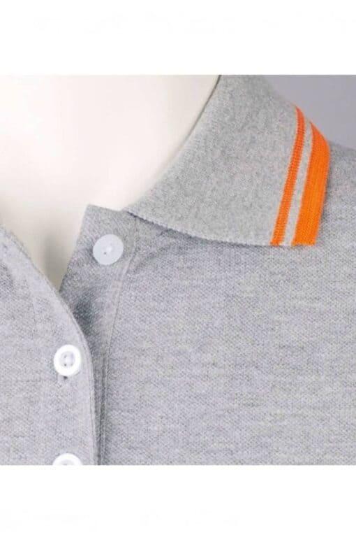 Grey Polo Man detail