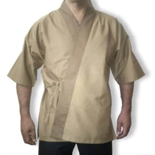 Kimono Castanho