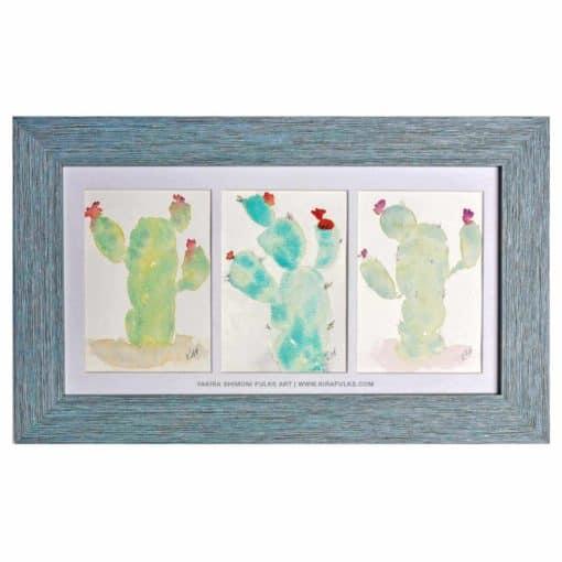 KILLA KACTUS-Cactus Watercolors ©Yakira Shimoni Fulks—Kira Art and Poetry