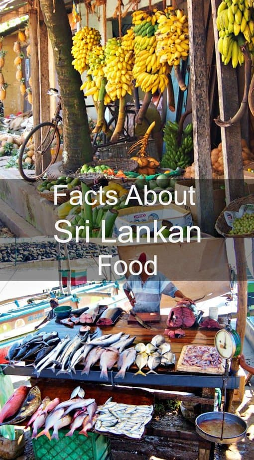 Facts about Sri Lankan food
