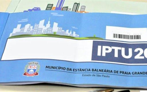 Desconto IPTU Praia Grande 2021