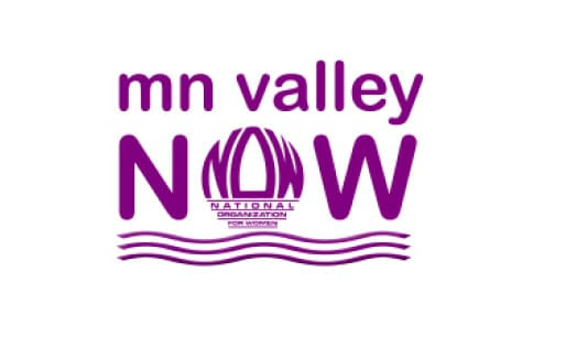 logo for MN Valley NOW