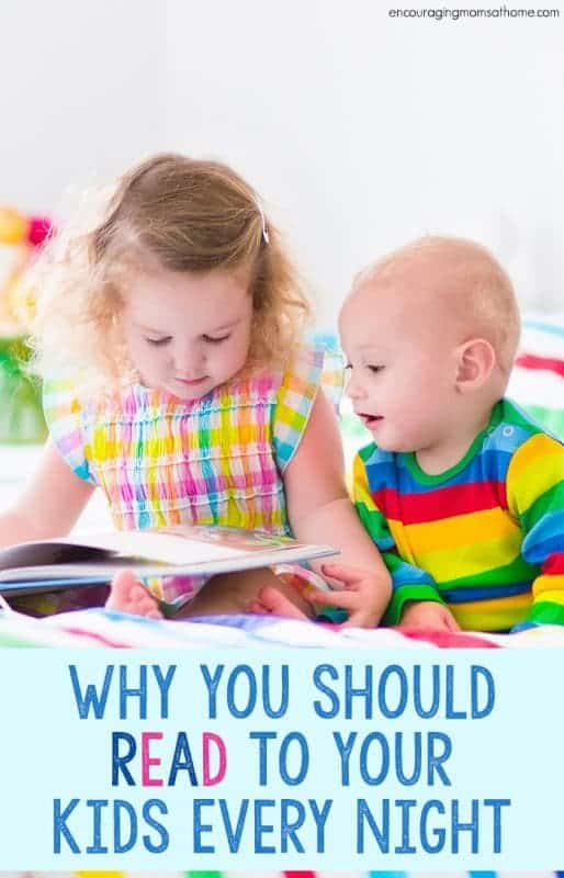 I've always been a bookworm! I believe this has stemmed from my parents reading to me as a kiddo. Here are reasons why you should read to your kids every night!