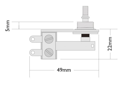 Right angle toggle switch dimensions
