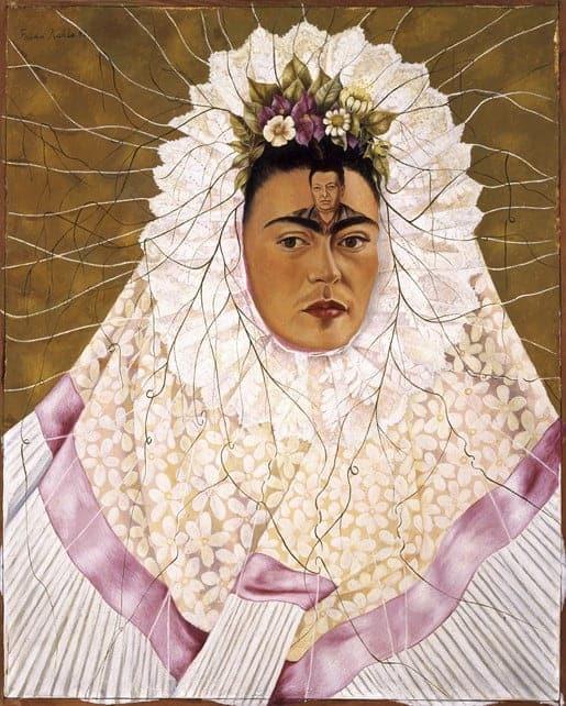 Frida Kahlo Autorretrato como Tehuana –(Diego on my mind) 1940-1943. Jacques and Natasha Gelman Collection. Latin American Art