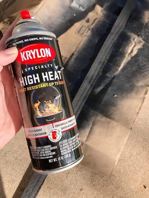 high heat krylon spray paint