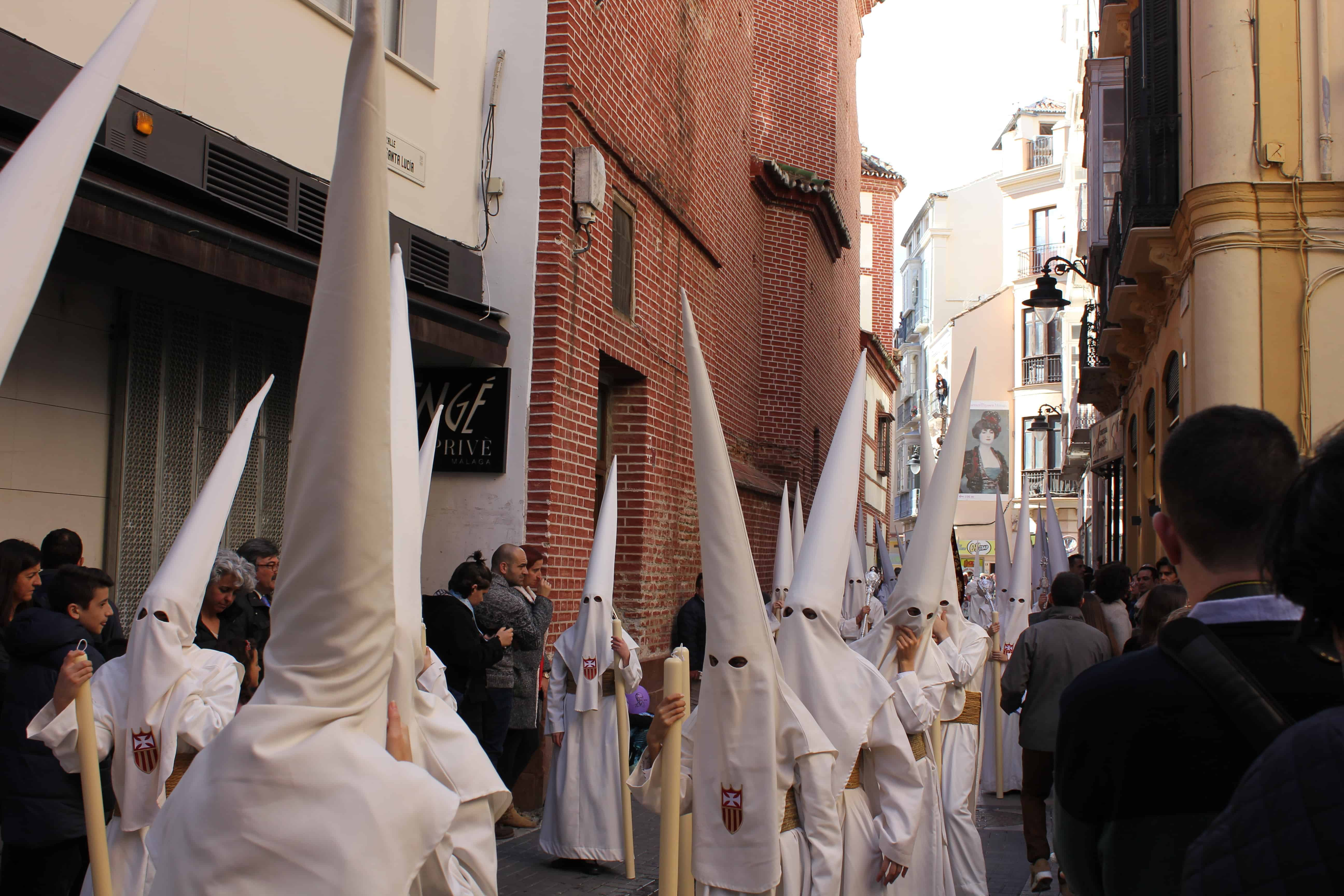 Processions in Malaga, Semana Santa in Malaga Spain, the Holy Week in Malaga Spain