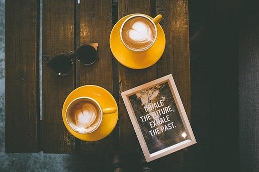 Photo by Toa Heftiba on Unsplash. Coffe, Advice, yellow, cute, reading