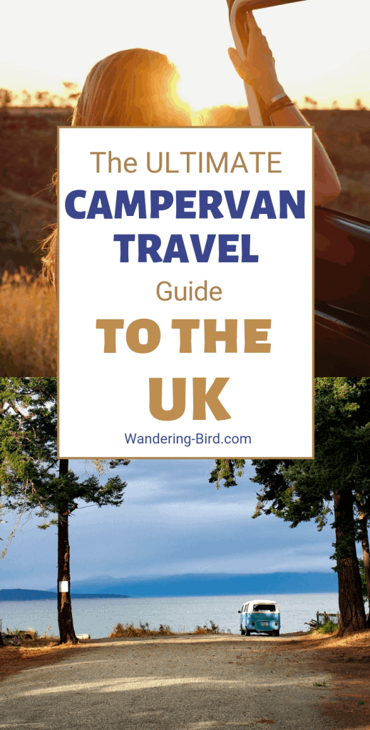 The Ultimate Guide to campervan travel in the UK. Tips, tricks, how to find places to park for free- everything you need to know to have an AMAZING UK road trip. #campervan #campervanliving #travel