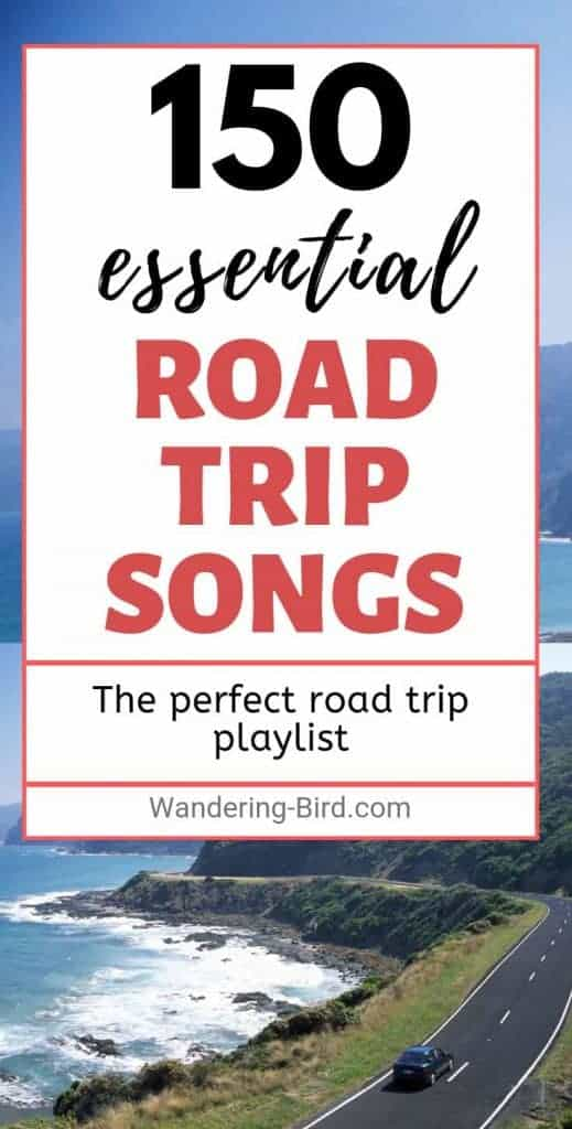 Planning a summer road trip? This playlist is a PERFECT mix of upbeat driving tunes and classic sing-along favourites. With 150 songs to choose from, this summer road trip playlist has something for everyone! Summer roadtrip music never sounded so good! #roadtrip #summer #music #playlist #songs