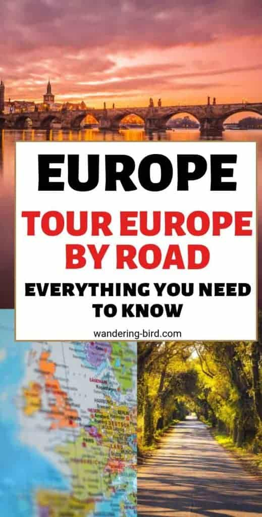 Looking for awesome Europe road trip ideas and tips? This guide contains EVERYTHING you need to know to road trip around Europe- including places to visit, places to stay, packing lists, travel hacks, money and budget tips and many other awesome things! It's the only Europe Road Trip guide you need!