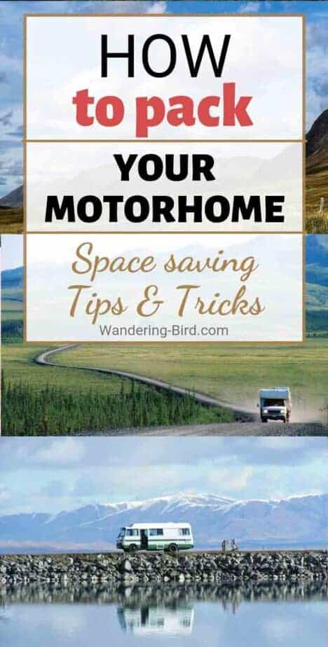 Want the BEST RV organization tips and tricks? These AWESOME space saving hacks and ideas will help you organize and tidy your RV or motorhome, as well as fit more gear in! These are the BEST RV life tips you need