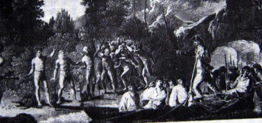 James Cook - Landung auf Tonna