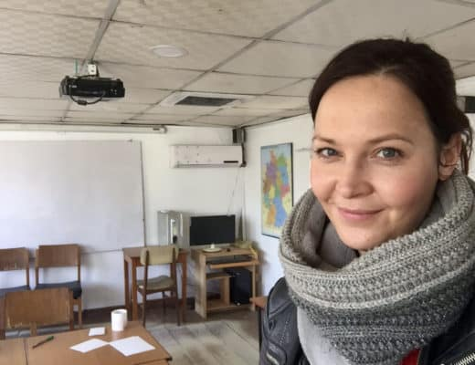 Deutschlehrerin im Ausland