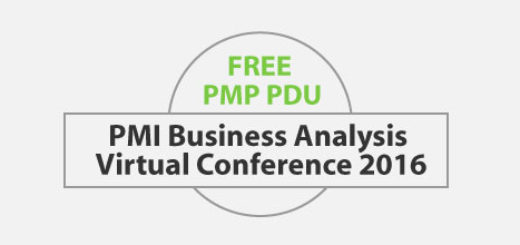FREE 6 PDU for Attending PMI Business Analysis Virtual Conference 2016