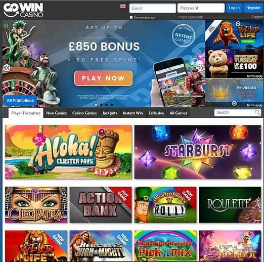 GoWin Casino Free Spins Bonus