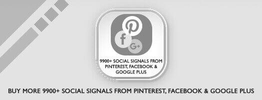 9,900+ Social Signals From Pinterest Facebook Dubai