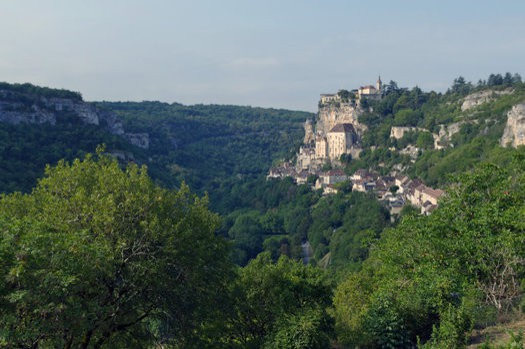 Rocamadour Aussichtspunkt L'Hospitalitat
