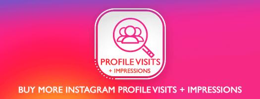 Instagram Profile Visits Dubai + Impressions