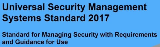 USMS 2017 for Security Management