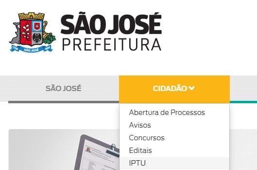 IPTU São José SC Consulta