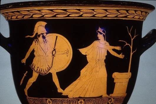 Helena und Menelao